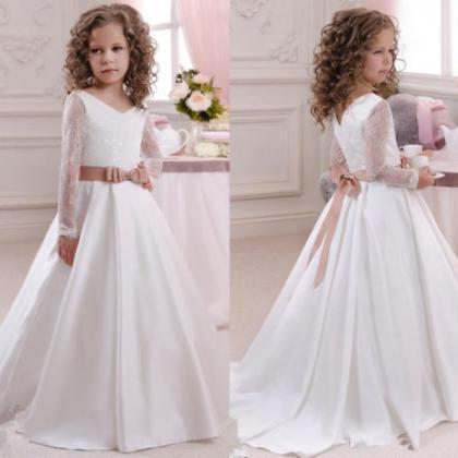 Flower Girl Dresses Bridesmaid Wedd..