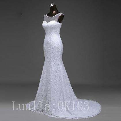 Women Fashion White/Ivory Mermaid W..