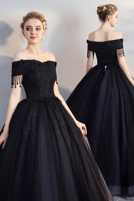 Sexy Strapless Off the Shoulder Long Wedding Dress Lace Party Dress Prom Dress Evening Dress