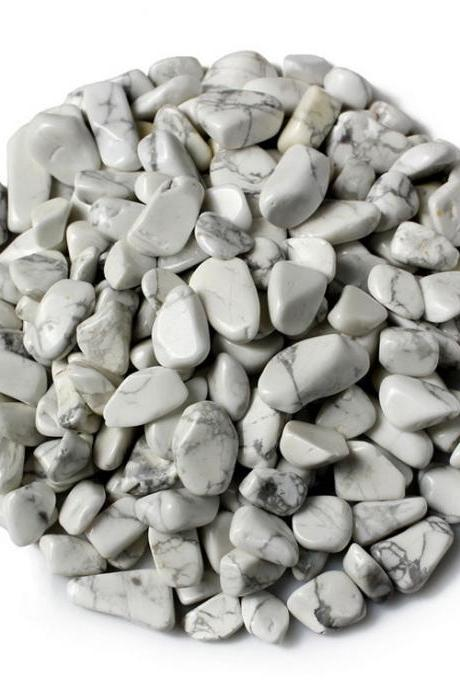 100g Small Particles 100% Natural Tumbled Clear white kallaite Quartz Stone Gemstone XA13