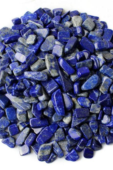 100g Small Particles 100% Natural Tumbled Clear lapis lazuli Quartz Stone Gemstone XA15