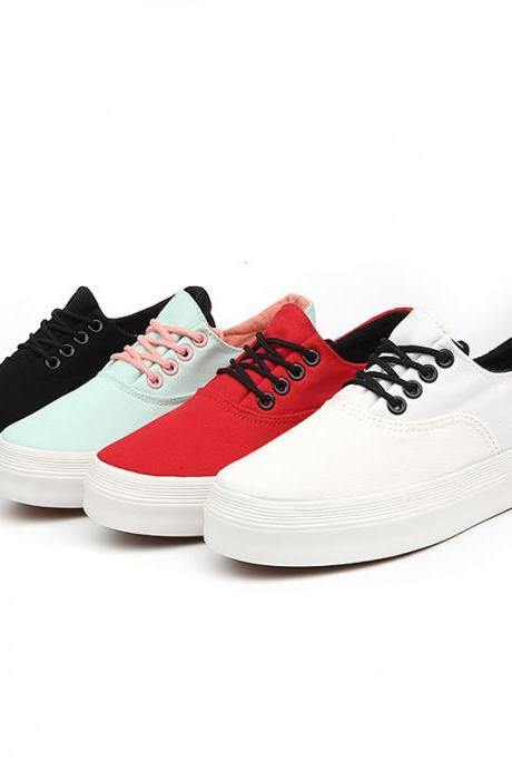 Free Shipping Sport Fashion Flat Cleats Canvas Shoes S3