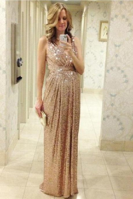 Fashion Dresses Evening China Cheap Luxury High Quality Long Rose Gold Prom Dresses BR1