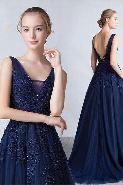 Fashion Dresses Sexy Lace Applique Evening Party Dress Sexy Prom Dress Bridesmaid Dress Wedding Dress BR41